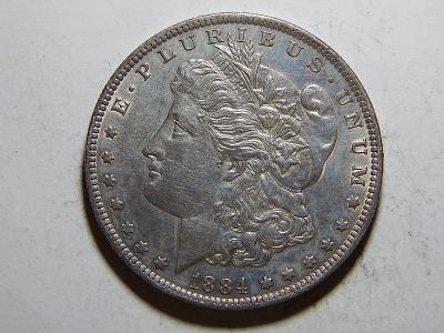 USA 1 Dollar Morgan 1884O UNC č25605