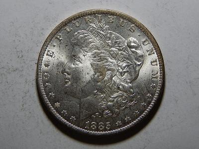 USA 1 Dollar Morgan 1885O UNC č25604