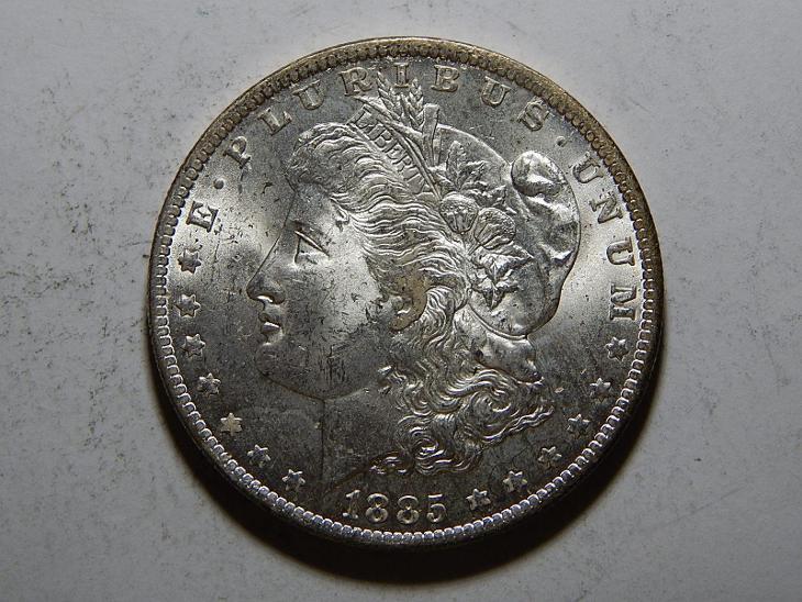 USA 1 Dollar Morgan 1885O UNC č25604 - Numismatika