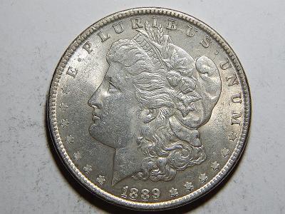USA 1 Dollar Morgan 1889 UNC č25602