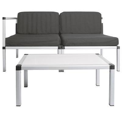 Sada nábytku na zahradu a balkon 2x křesla 1x stůl URZ0477