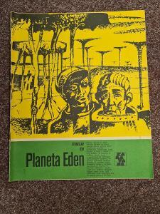 "SBĚRATELSKÁ KNIHA STANISLAVA LEMA  ""PLANETA EDEN"" Z ROKU 1979"