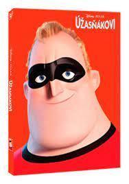 Úžasňákovi DVD - Disney Pixar edice