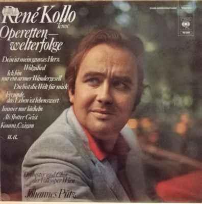 LP René Kollo, Orchester - Operetten - Welterfolge, 1973 EX