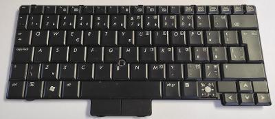 Klávesnice V070102AK1 z HP Compaq 2510p vadná