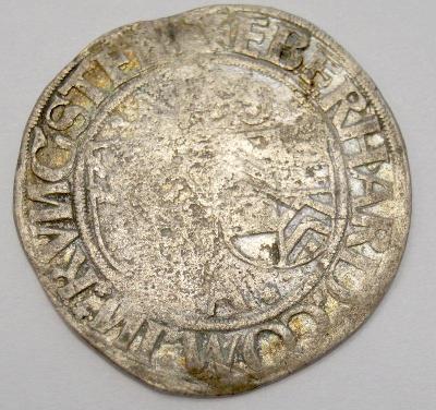 Stará mince - Augsburg, 16. století, 1 Batzen (6503)