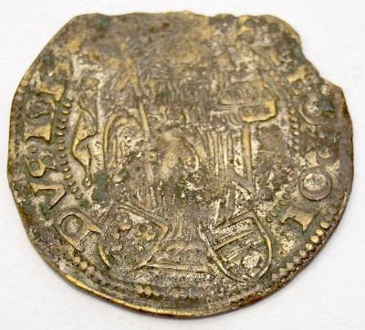 Stará mince - Korutany, 16. století, Batzen (6505)