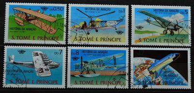 == Letecké - Sao Tome and Principe =Historie letectví = / B-796