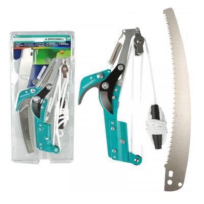 Zahradnické nůžky s kabelem a pilou 30 cm Greenmill GR6603