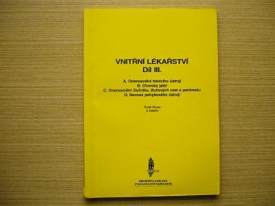 Pavel Klener a kol. - Vnitřní lékařství III. | 1997 -n