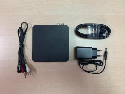 Android T2 Box pro TV s ovladačem, černá barva