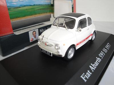 Fiat Abarth 595 SS 1957 - IXO/Atlas 1:43