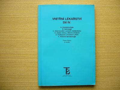 Pavel Klener a kol. - Vnitřní lékařství IV. | 1997 -n