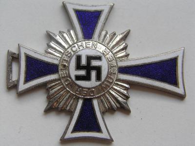 Kříž matek stříbro, Mutterkreuz silber