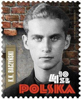 Polsko 2021 Známky ** Druhá světová válka literatura básník Varšavské