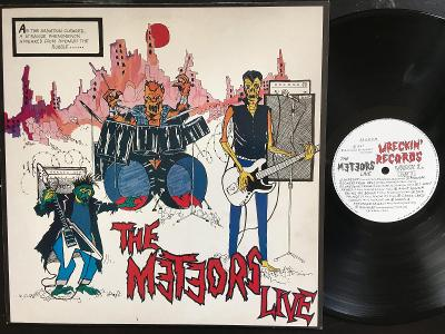The Meteors – The Meteors Live PUNK Psychobilly 1987 UK EX+