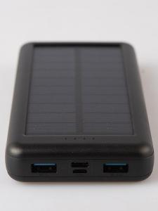 Solární powerbanka HX160S4/ 26800mAh/ 99,2Wh/Od 1Kč