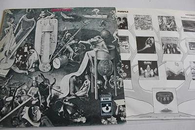 Deep Purple April LP 1969 vinyl Italy RI 1975 super stav EX+
