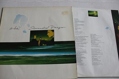 a-ha – Scoundrel Days LP 1986 vinyl Germany 1.press VG+