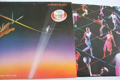 "Supertramp – ""...Famous Last Words..."" LP 1982 vinyl super stav NM"