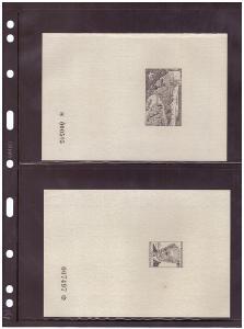 ČSSR - PT 1-25 - KOMPLETNÍ SBÍRKA ČERNOTISKŮ, VŠE NASKENOVÁNO (S1861)