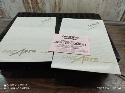 Integrovaný Zesilovač Grundig Fine Arts A 903