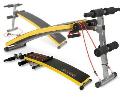 VÝCVIKOVÁ LAVICE + EXPANDERY Fitness