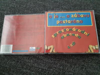 4CD A JE O ZÁBAVU POSTARÁNO / SPROSTONÁRODNÍ ABECEDA 2003 RARE