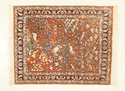 Hedvábný koberec Ghoum - strom života