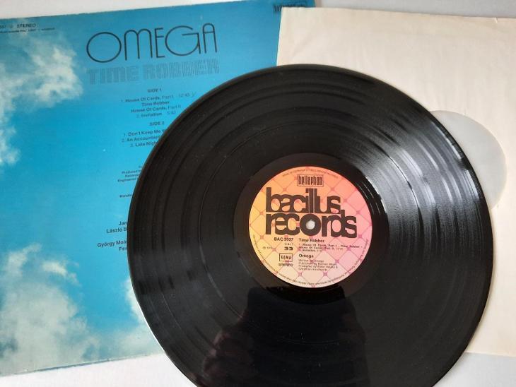 Omega – Time Robber LP 1975 vinyl Germany VG+ - Hudba