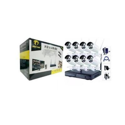 Bezdrátový HD NVR bezpečnostní systém - 8 WIFI kamer JORTAN