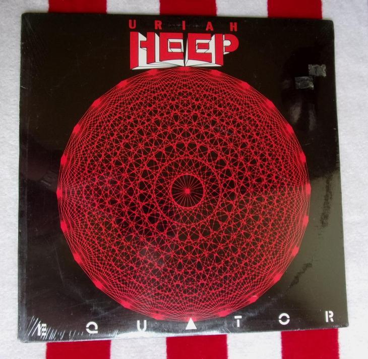💥 LP: URIAH HEEP - EQUATOR, Stále Zapečetěná!!! 1st pressing USA 1985 - Hudba