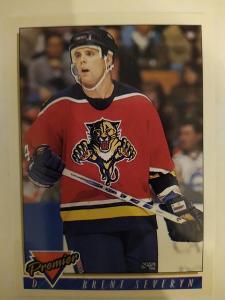 Prodám hokejovou kartu Premier Brent Severyn č 392