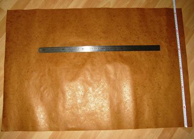 Elektroizolační papír - radio cívky, trafa, krystalky. Velký formát A0