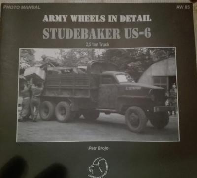 Army wheels  publikace Studebaker US-6