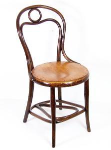 Židle Thonet Nr.31 se zouvákem, 1880ca