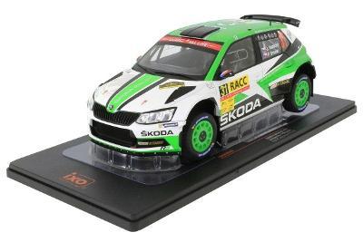 1:18 Skoda Fabia R5 Rally Catalunya 2018 Jan Kopecky 1:18 IXO
