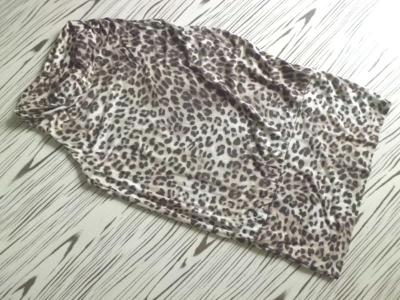 OKAY nepoužité pružné příjemné šaty s jemným vzorem XL/42-44