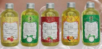 Masážní oleje (200ml)