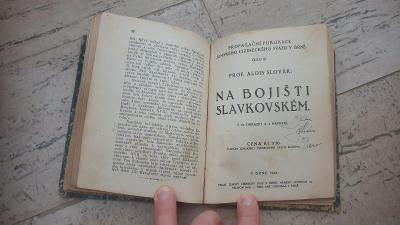 A.Slovák-Na bojišťi Slavkovském 1922+mapa+Napoleon I.r.1919