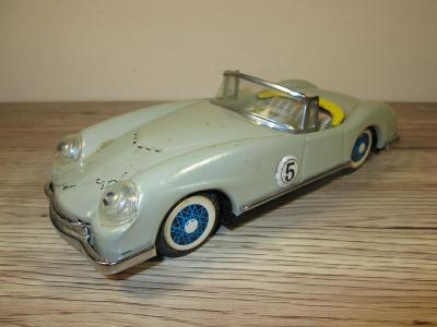 1970'S FRICTION MF 772 MADE IN CHINA VERY RARE #5 TIN RACING CAR (T7)