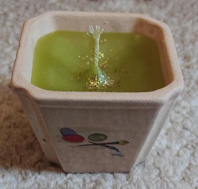 Malá velikonoční svíčka