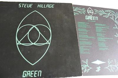 Steve Hillage Green LP 1978 vinyl Germany 1.press jako nove Prog Rock