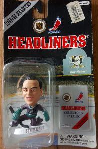 1998-99 Headliners NHL figurka Guy Hebert (Anaheim Mighty Ducks)