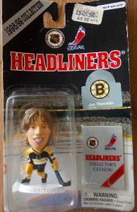 1998-99 Headliners NHL figurka Joe Thornton (Boston Bruins)