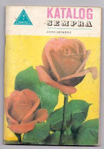 KATALOG SEMPRA - 1975 retro katalog monopolního prodejce semen v ČSSR