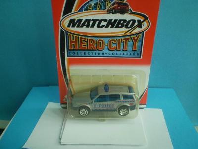 MATCHBOX - 26 POLICE SUV - NEROZBALENÝ - 2002