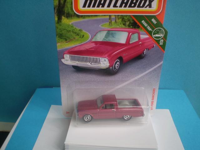 MATCHBOX -  1961 FORD RANCHERO- NEROZBALENÝ - Modelářství