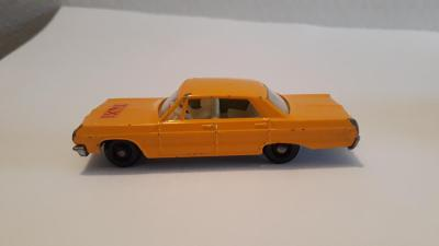 Matchbox Chevrolet Impala Taxi No 20