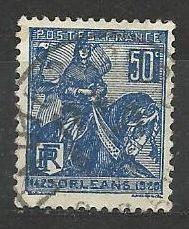 Francie razítkované, r. 1929, Mi. 237